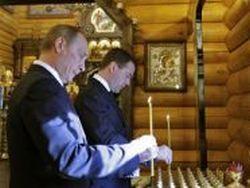 РПЦ благословила  передачу власти от Медведева к Путину