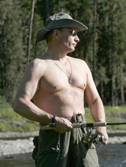 Президент Путин продемонстрировал идеальную форму (фото)