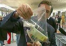Минюст одобрил запрет на провоз жидкостей на самолетах