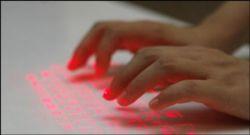 Celluon CL850 — виртуальная лазерная клавиатура