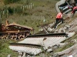 Чеченец из банды Басаева взял на себя ответственность за взрыв поезда