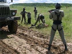 Луганские пограничники обстреляли контрабандистов из РФ