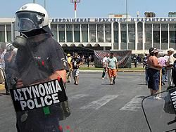 В Греции закрыли все аэропорты