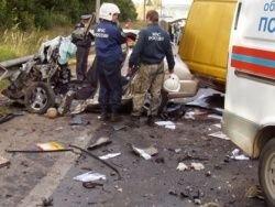 В Орловской области экс-полицейский сбил трех пешеходов