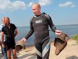Археолог: амфоры Путину никто не подкладывал