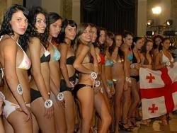 "На конкурсе ""Мисс Грузия - 2011"" победила россиянка"