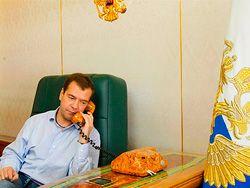 Медведев поздравил Эмомали Рахмона с днем рождения