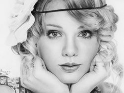 Художница-самоучка рисует очень реалистичные портреты