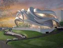 Парящий в воздухе театр намерены построить в Германии