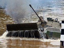 Морским пехотинцам создадут боевую машину с винтом