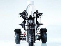 В Японии создан мотоцикл-туалет, работающий на фекалиях