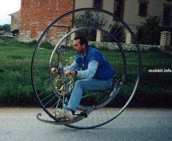 Самодельный моноцикл (фото)