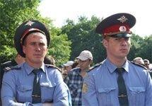 Московская милиция переведена на усиленный режим