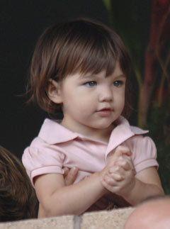 Дочь Тома Круза снимется в рекламной кампании детской линии Gap