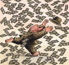 В каких деньгах счастье