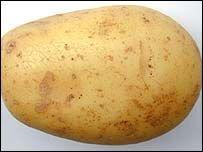 Немец грабил банк при помощи картофелины