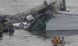 Возросло число жертв обрушения моста через Миссисипи
