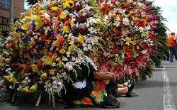 Фестиваль цветов в Колумбии (фото)