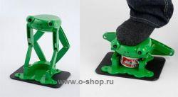 Новый девайс: раздавливание лягушек ногами