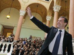 Ректору МГУ пожаловались на визит Медведева