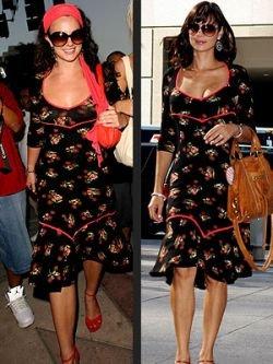 Звезды в одинаковых платьях: кто стильнее (фото)