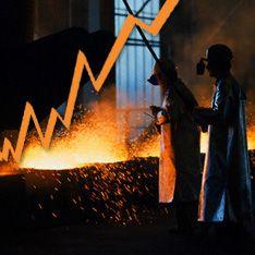 Промышленность в России растет как на дрожжах