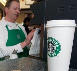 Всемирная сеть кофеен Starbucks появляется и в России