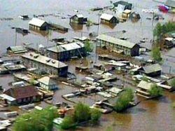 В США страдают от жары и наводнений