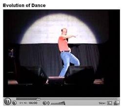 Эволюция танца: 6 самых веселых минут в вашей жизни (видео)