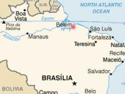В Атлантическом океане произошло землетрясение силой в 6,6 балла