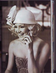 Голливудский гламур в стиле ретро: Кейт Хадсон для Harper\'s Bazaar
