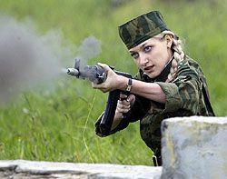 В России увеличилось число женщин, мечтающих служить в армии по контракту