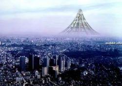 Японский небоскреб в форме горы стоимостью почти триллион долларов