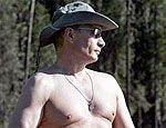 Новое секретное оружие России – голый торс Путина