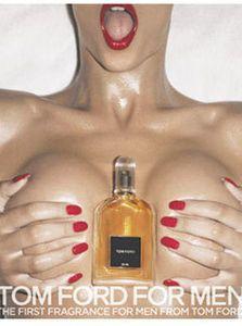 Скандальная реклама Tom Ford for Men