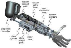 """Ученые разработали руку-протез с \""""ракетным двигателем\"""""""