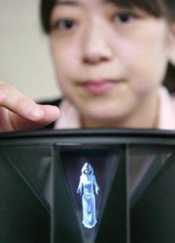 Hitachi сделала шаг навстречу 3D-экранам для телефонов