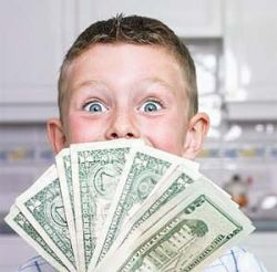 Американские дети умеют считать деньги, российские пока только тратить