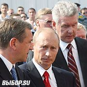 Владимиру Путину на МАКС-2007 не досталось мороженого