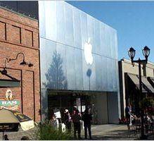 По США прокатилась волна ограблений магазинов Apple Store