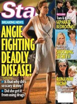 Жизнь Анджелины Джоли под угрозой?