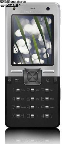 Концепт черного Sony Ericsson T650