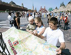 Из-за нехватки указателей и справочных служб российские города превращаются в лабиринты