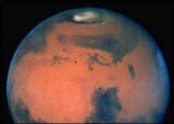 В коре Марса есть признаки жизни