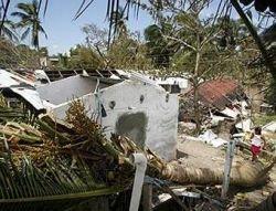 """Подсчитано число жертв урагана \""""Дин\"""""""