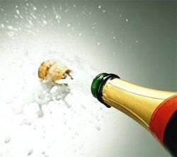 Импорт французского шампанского увеличился в России на 62%