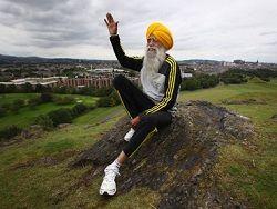 Фоджа Сингх - старейший в мире марафонец