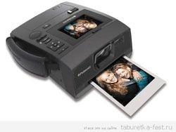 """Polaroid создала """"мгновенный"""" цифровой фотоаппарат"""