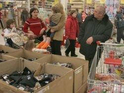 Москвичи экономят на продуктах