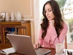 Доказано, что работа на дому более продуктивна